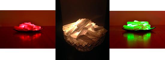 Selenite Lamps